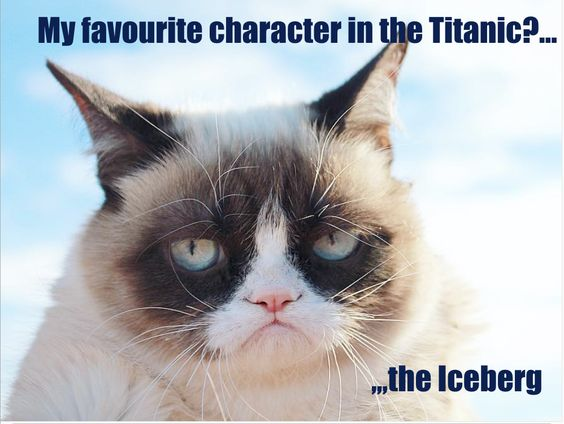 My Favourite Character in Titanic? The Iceberg