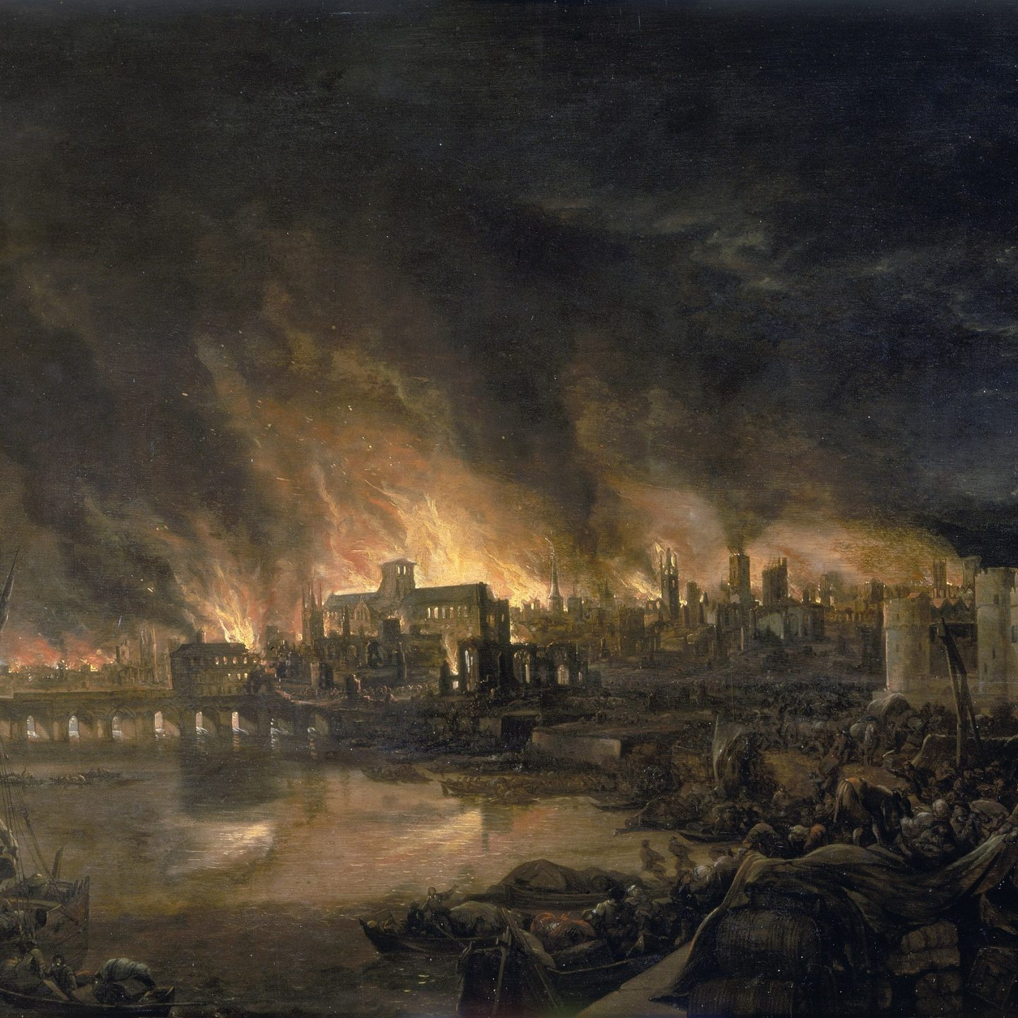 September 2, 1666: The Great Fire of London