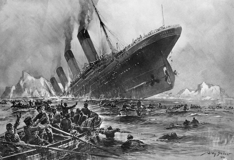 April 15, 1912:  The Sinking of the Titanic