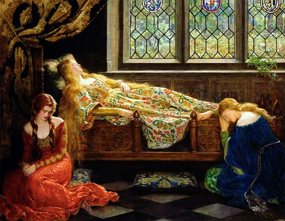 John Collier, The Sleeping Beauty